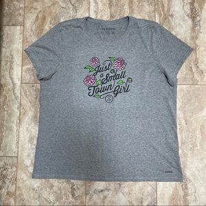Life Is Good Just A Small Town Girl T-Shirt XXL